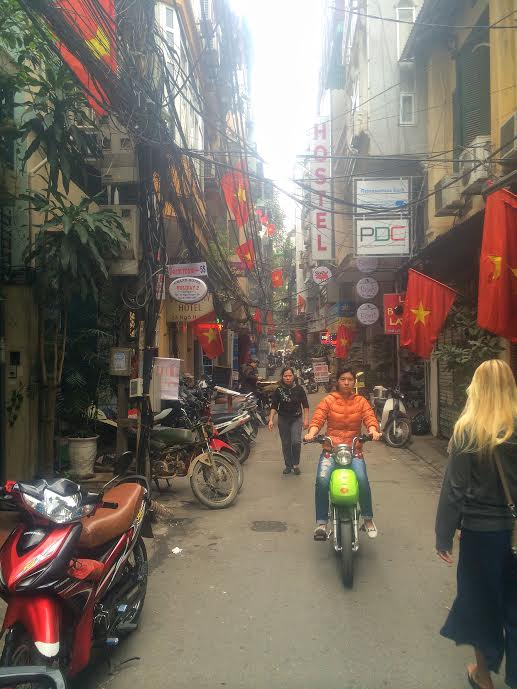 Hanoi: New Years Ghost Town