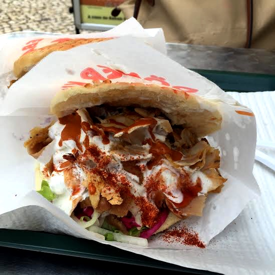 Doner Kabab Turkey Street Food