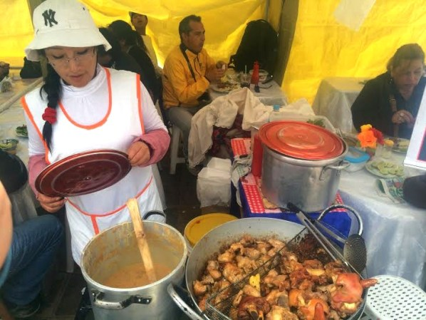 Peru Street Food Chicharones Cusco Market