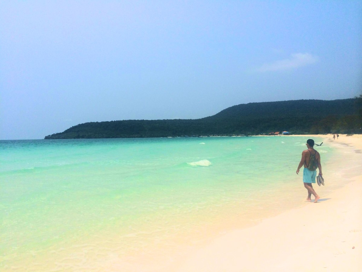 Hiking to Heaven: Long Beach, Cambodia