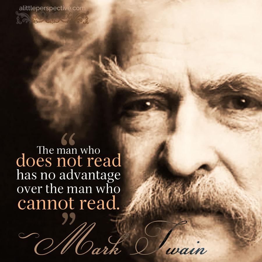 Mark Twain | alittleperspective.com