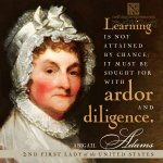 abigail adams, 2nd first lady of the united states | nothingnewpress.com