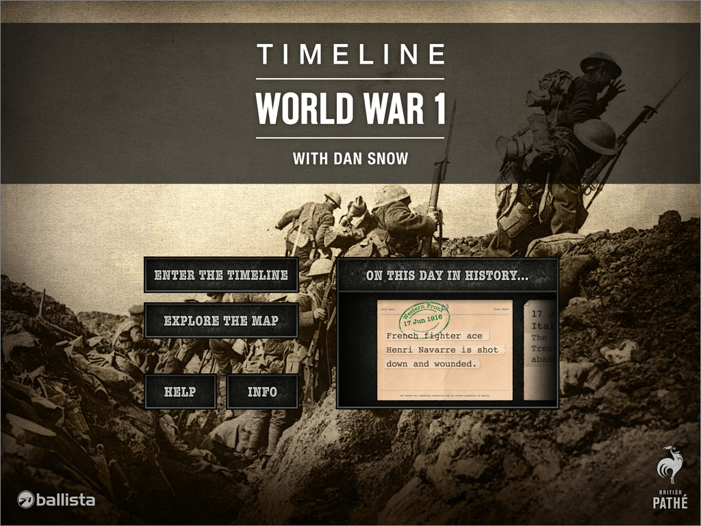 Not How It Looks Timeline World War 1