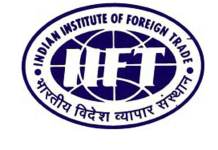 Research fellowship Associate IIFT Delhi