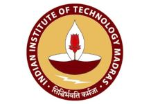 IIT Madras Summer Fellowship 2019