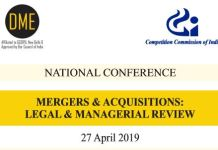 DME Conference Mergers Acquisitions