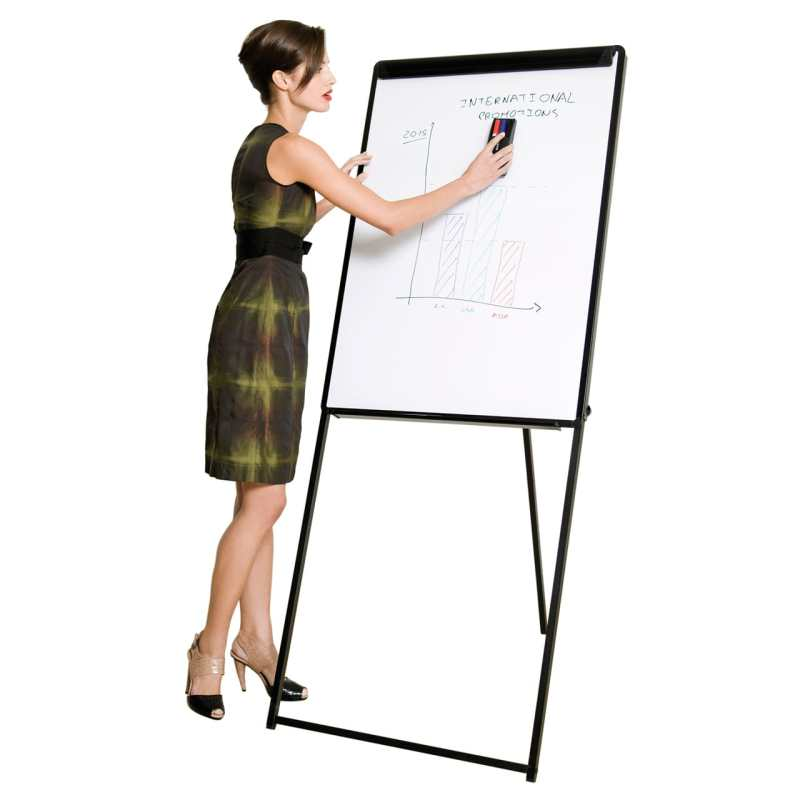 Bi-Office Classic Footbar Easel for Extra Stability