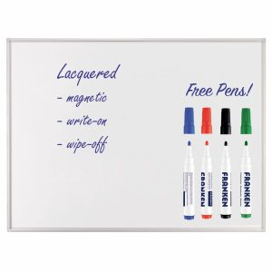 Professional Lacquered Whiteboards - Free Pens