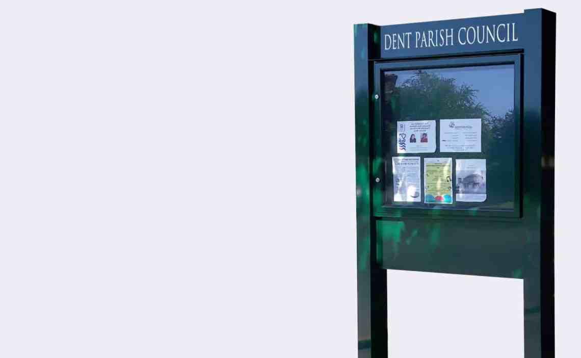 Outdoor Post Notice Boards