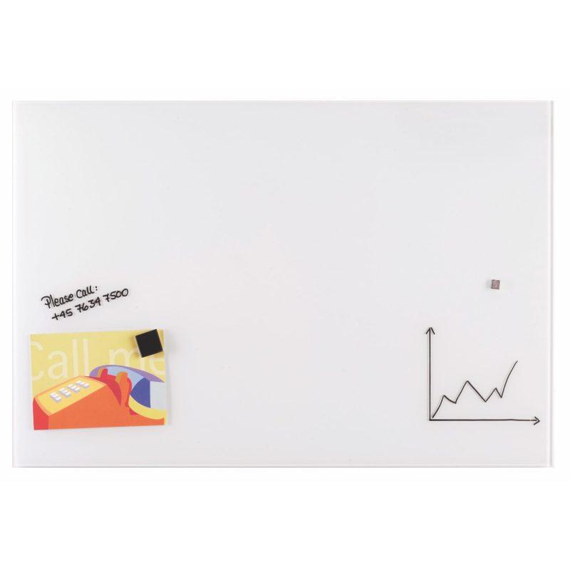 Franken Magnetic Glassboards 600 x 800mm White