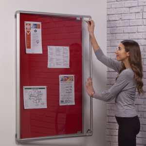 Indoor Lockable Notice Boards