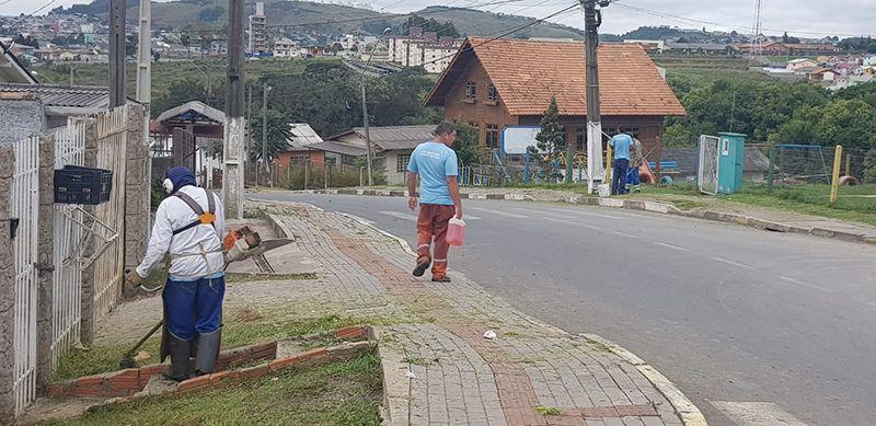 Meio Ambiente intensifica limpeza da cidade neste sábado