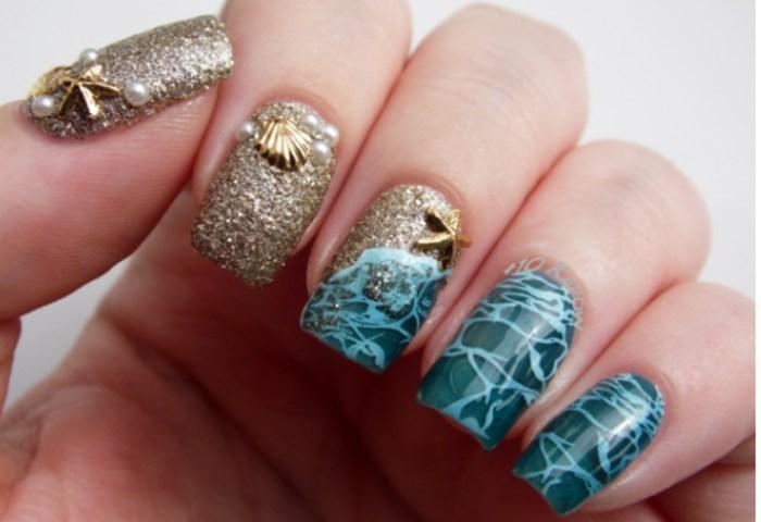 Espectaculares Diseños De Uñas Que Debes Llevar Para La Playa