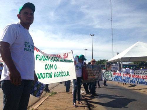 Manifestação em Rondonópolis/MT