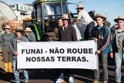 Manifestação no RS