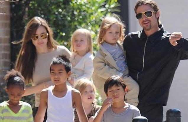 ¡Se estremecen las redes! La otra hija de Angelina Jolie que está empezando a tener aspecto masculino (Fotos)