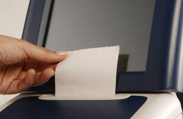voto maquina de votación