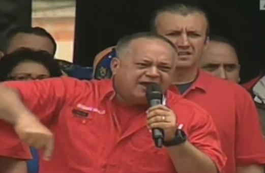 """El mensaje de Diosdado Cabello para la fiscal: """"Te vamos a voltear la Fiscalía patas arriba"""""""