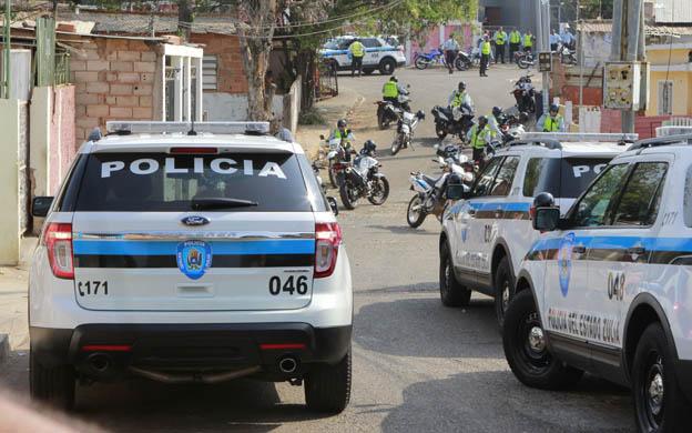 MARACAIBO VENEZUELA: 02/03/2013ENFRENTAMIENTO CON EL CPEZ  EN L