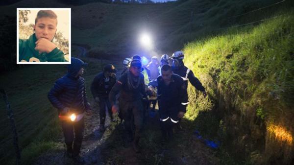 """¡Tubazo! Encontraron al """"niño ángel"""" que ayudó en el primer rescate de la tragedia del Chapecoense"""