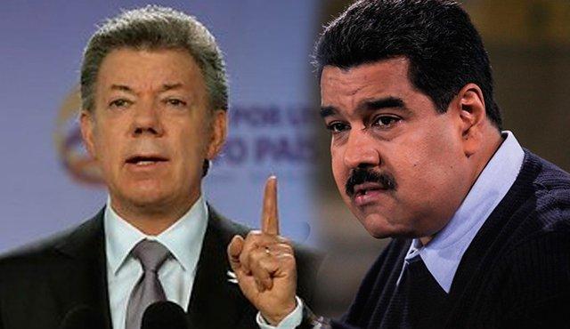 La respuesta de Juan Manuel Santos para Maduro, por culpar a Colombia de sus males