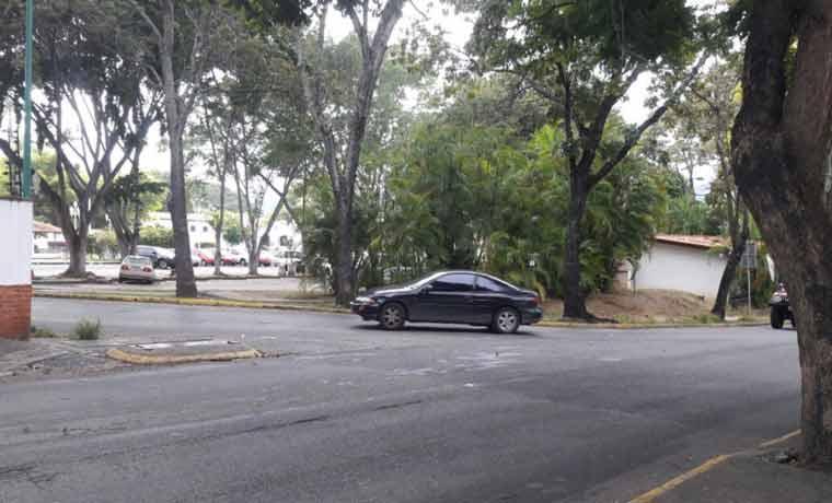 Las detonaciones que se escucharon en La Casona, este lunes