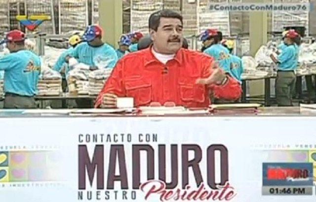 Nicolás Maduro aumentó el salario mínimo y pensiones a Bs. 40.638 a partir de enero