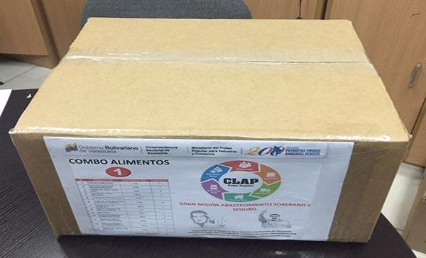 Pendientes: Esto es lo que viene en las cajas CLAP (Imágenes)