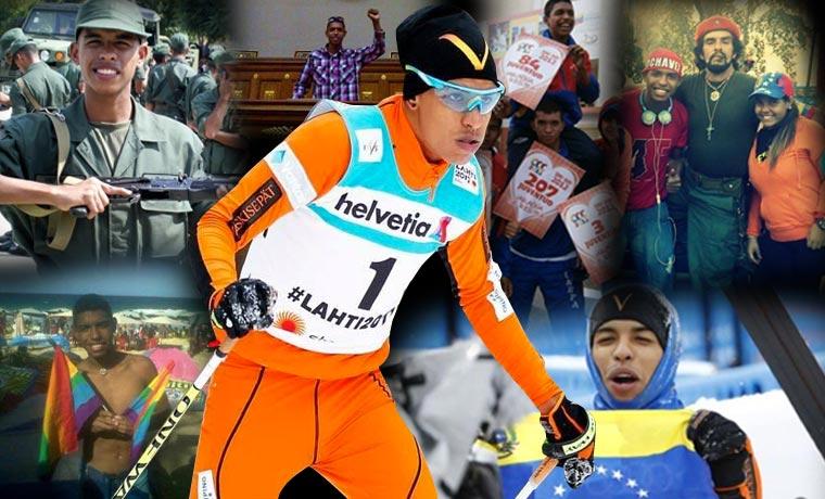 """Lo que hay detrás del """"esquiador"""" Adrián Solano"""