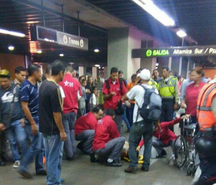 Tiroteo en estación Altamira del Metro de Caracas deja un herido