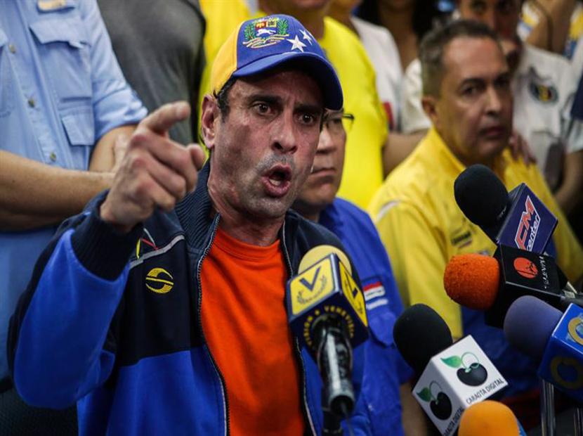 La terrible denuncia de Capriles de lo que intentará hacer el Gobierno en las próximas horas
