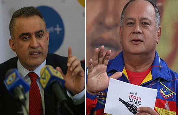 El mensaje que le envió Tarek William Saab a Diosdado Cabello tras el pronunciamiento de su hijo