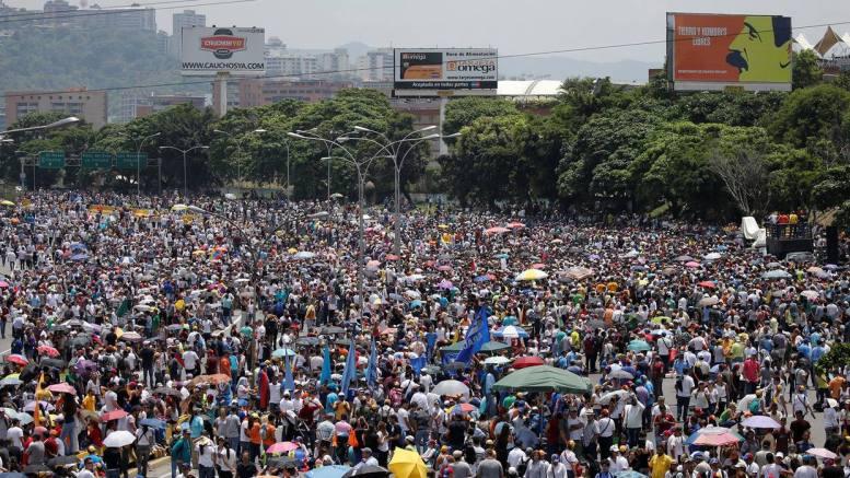 mud oposición marcha Caracas