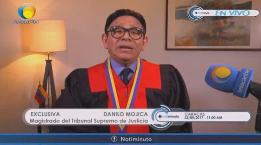 """¡Tubazo! Magistrado del TSJ: """"Convocatoria a Constituyente no es la solución a la crisis, Presidente, reflexione"""""""