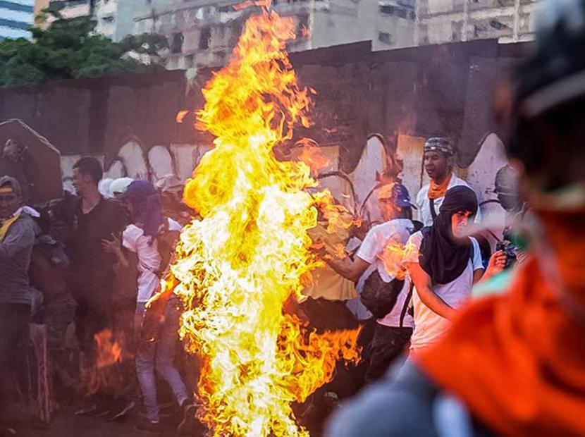Lo que dijo Luisa Ortega Díaz de joven quemado en Altamira