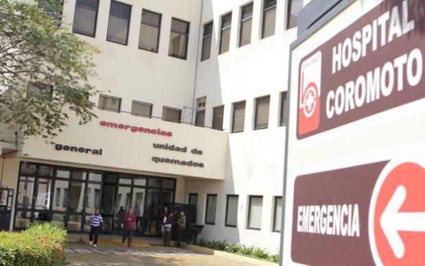 unidad de quemados maracaibo hospital coromoto