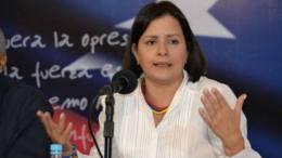 Liliana Hernández coordinadora electoral de la MUD