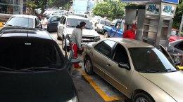 Colas por gasolina en Táchira