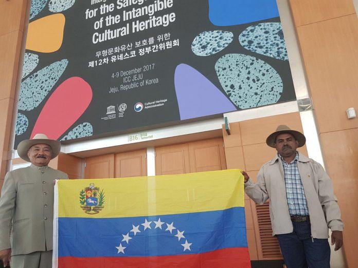 delegación llanera en la Unesco