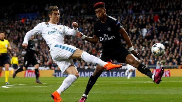 Cristiano anotó dos goles en triunfo del Madrid sobre el parís Saint germain