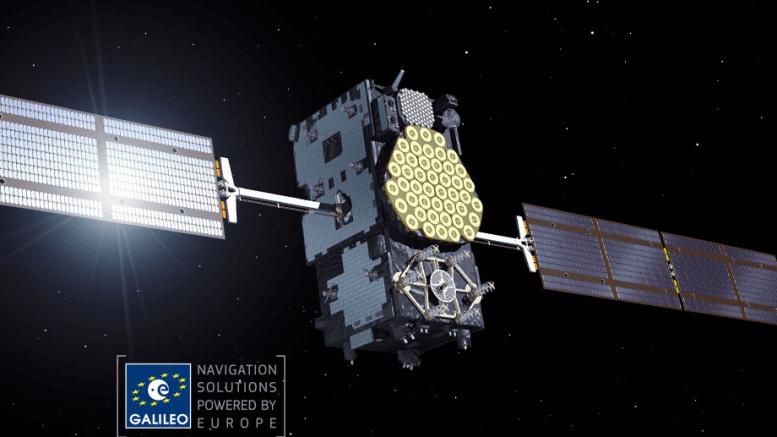 satelite del programa galileo que sustituye al GPS