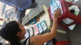 venta informal de dinero en efectivo en Venezuela