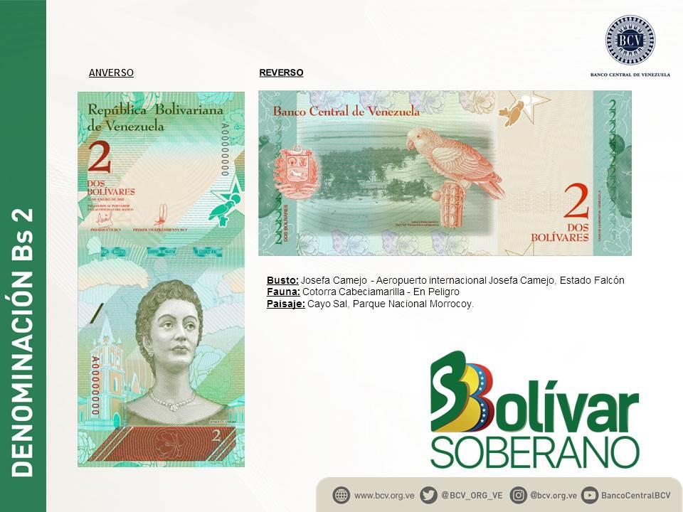 El Bolívar Soberano nuevo cono monetario