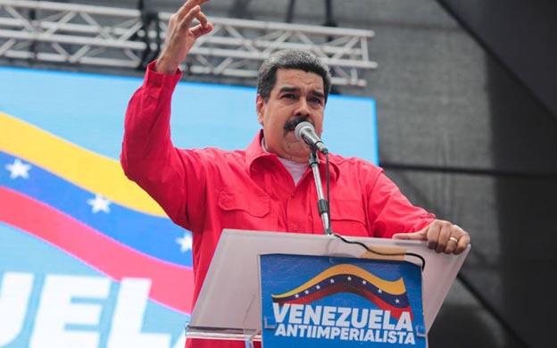 Nicolás Maduro en campaña