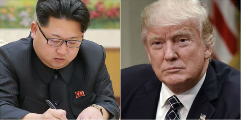 Donald Trump-Kim-Jong-Un