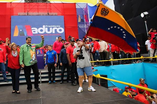 Maduro-Maradona