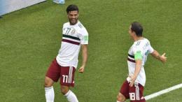 Carlos Vela marcó el primer gol frente a Corea del Sur