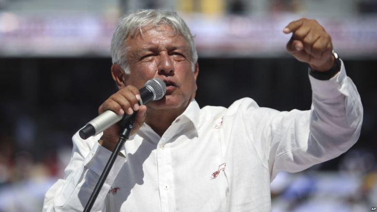 Andrés López Obrador favorito en las presidenciales mexicanas