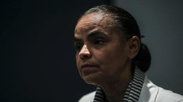 La candodata brasileña a la presidencia Marina Silva