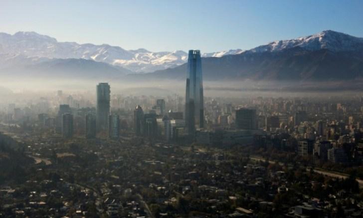 Santiago de Chile en alerta ambiental